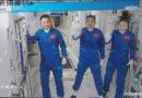 Astronautas de Shenzhou-13 de China ingresan a módulo central de estación espacial